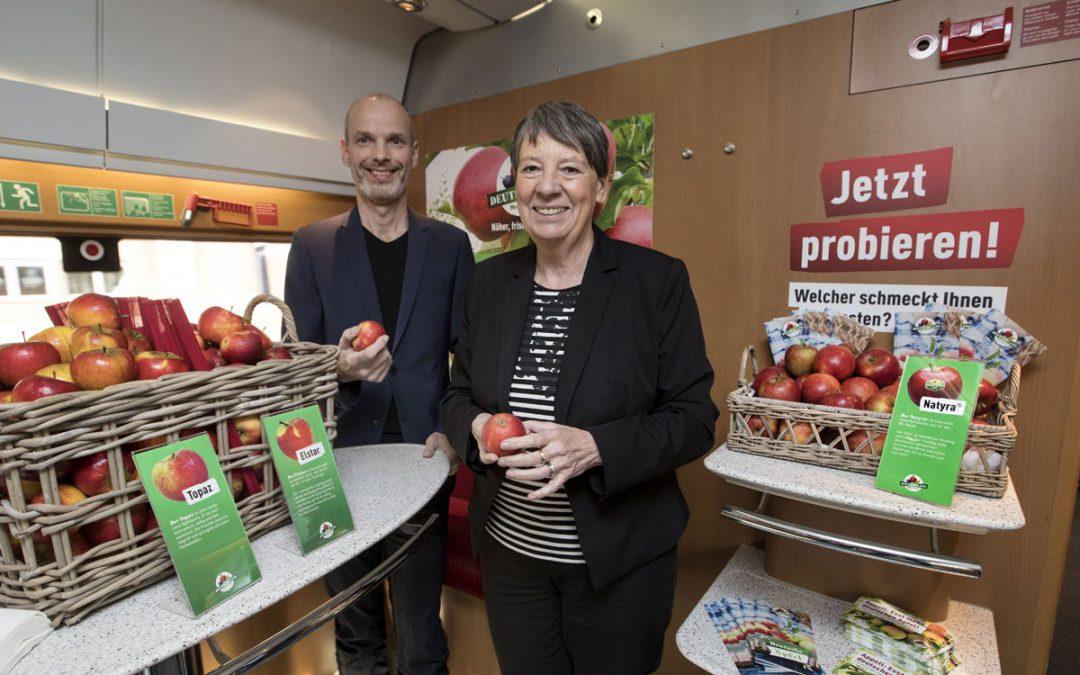 Mit deutschen Äpfeln zur UN-Klimakonferenz nach Bonn