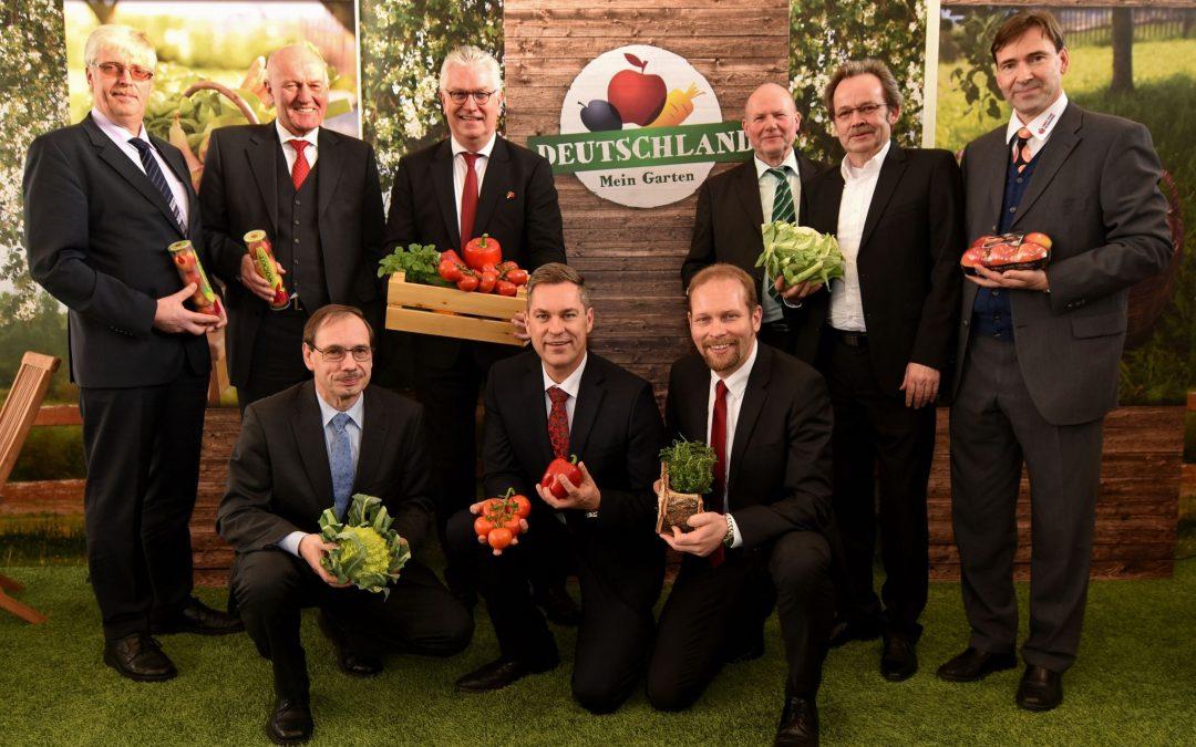 """Fruit Logistica: """"Gemeinsam schmeckt's besser"""" ist das Kampagnenmotto der BVEO für 2016 vorgestellt vom BVEO Gesamtvorstand"""