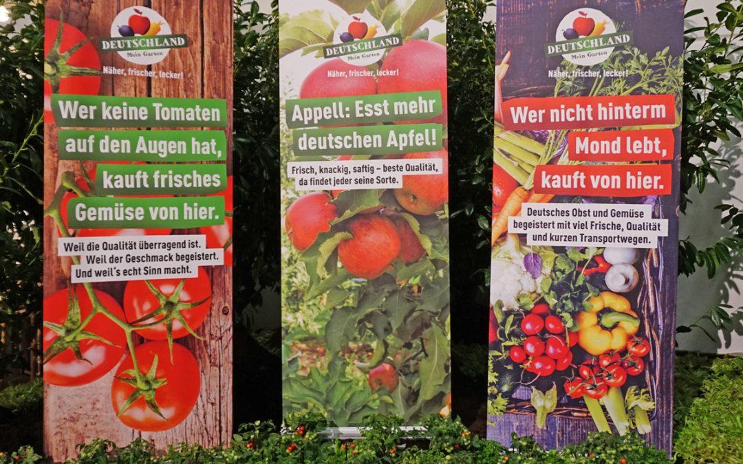 """""""Deutschland – Mein Garten."""" wirbt mit neuen Kampagnenmotiven für Obst und Gemüse aus Deutschland."""