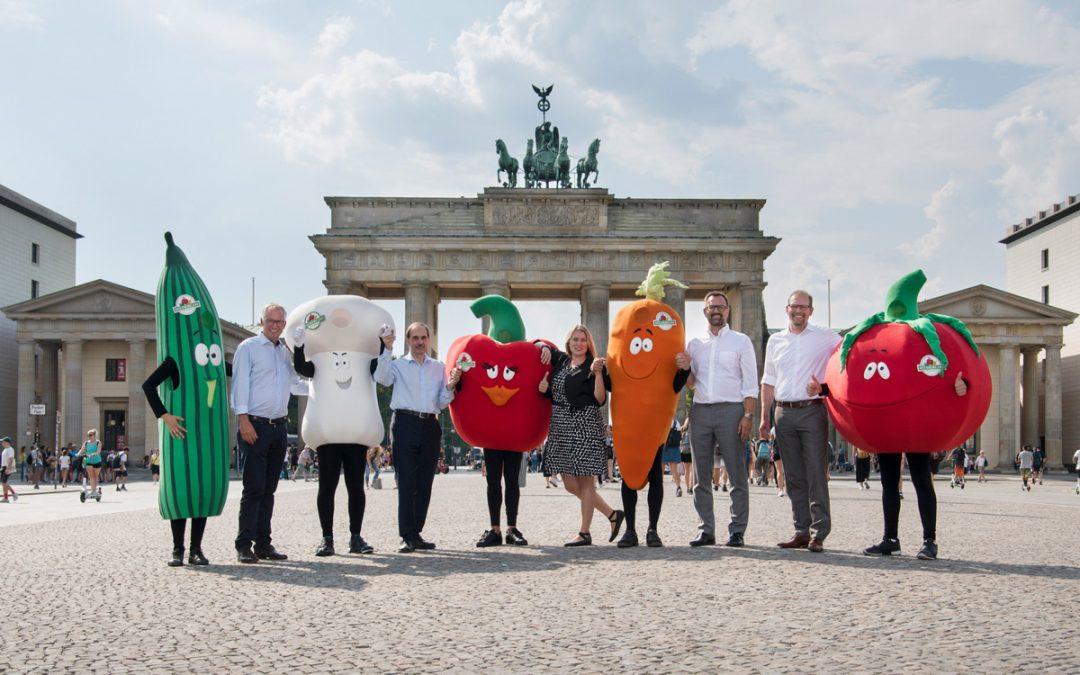 Deutsches Sommergemüse erobert die Hauptstadt!