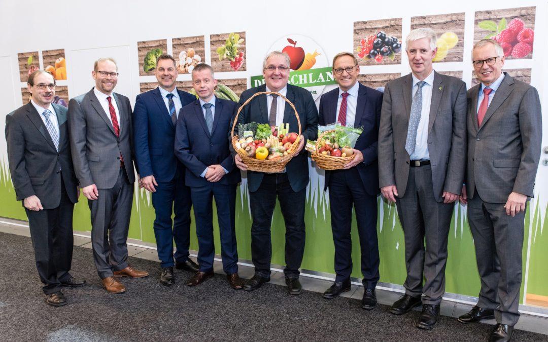 Fruit Logistica 2019: Die Bundesvereinigung der Erzeugerorganisationen für Obst und Gemüse e.V. (BVEO) zieht trotz Trockenheit des vergangenen Jahres positive Bilanz