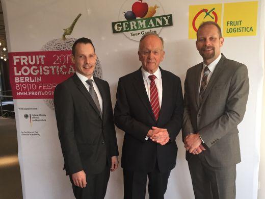 Deutscher Obst und Gemüse Kongress in Düsseldorf eröffnet