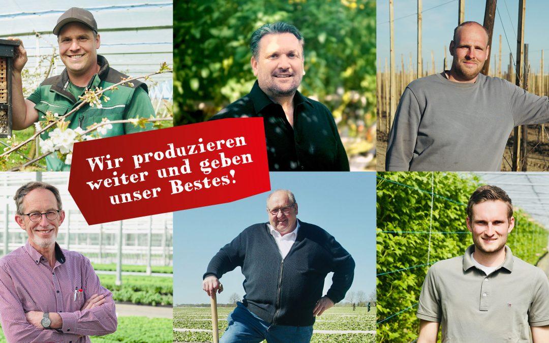 """""""Auf das Genusshandwerk Landwirtschaft ist Verlass: Wir produzieren weiter und geben unser Bestes!"""""""