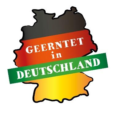 """""""Geerntet in Deutschland"""" – Ein eindeutiges Verkaufslogo für Obst und Gemüse aus Deutschland"""